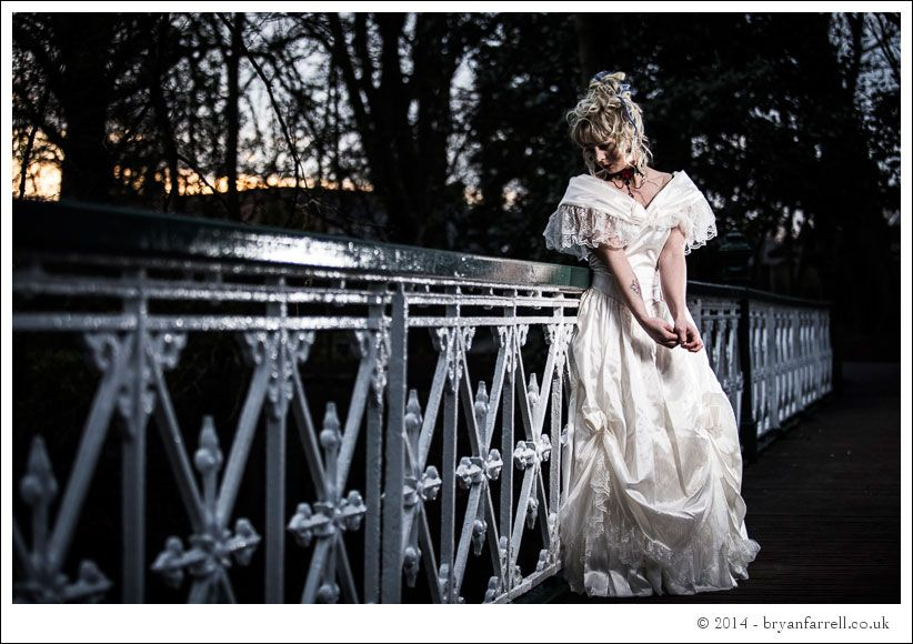 Gothic Bride Shoot 12