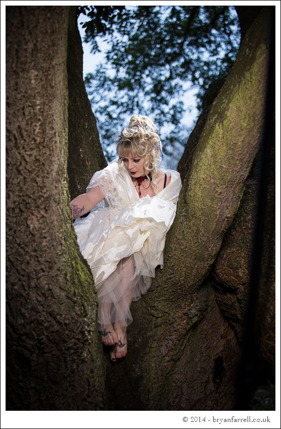 Gothic Bride Shoot 14