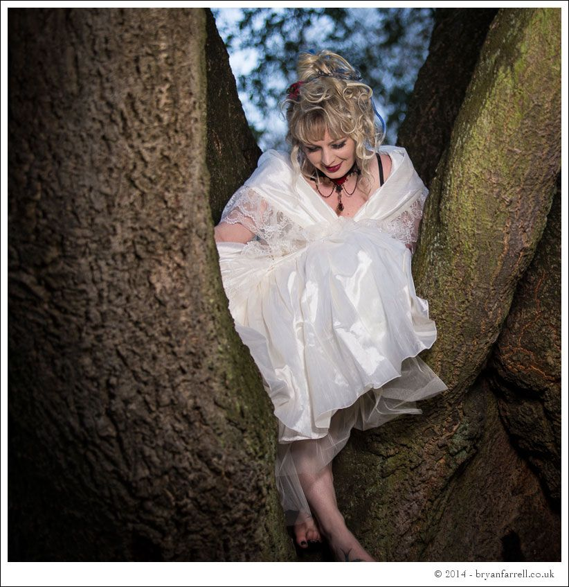 Gothic Bride Shoot 15