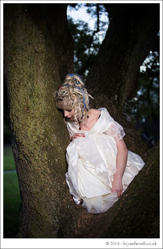 Gothic Bride Shoot 16