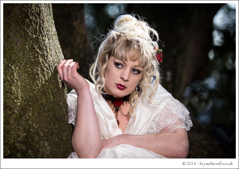 Gothic Bride Shoot 17
