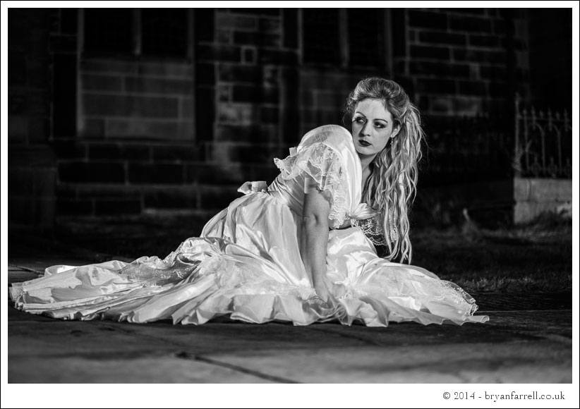 Gothic Bride Shoot 20