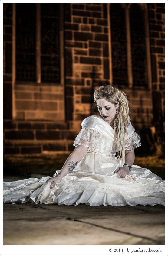 Gothic Bride Shoot 22