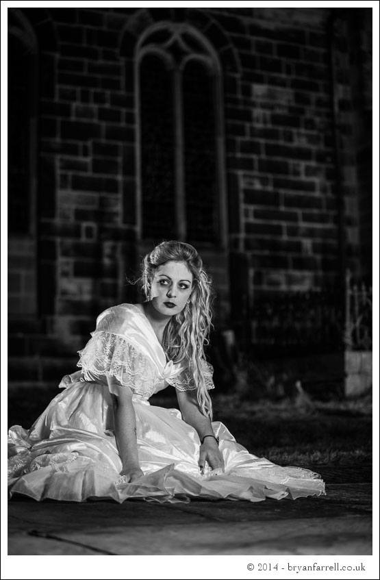 Gothic Bride Shoot 23