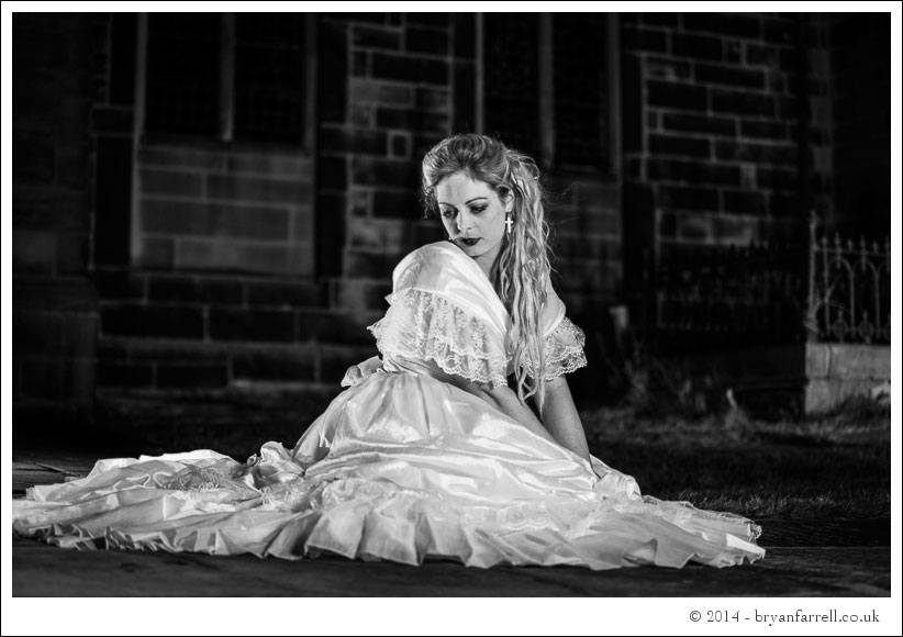 Gothic Bride Shoot 24