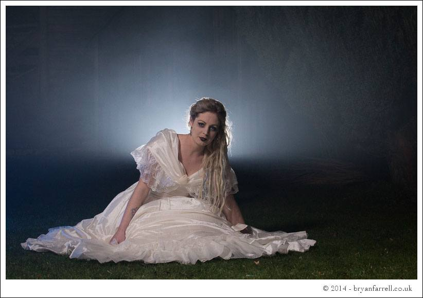 Gothic Bride Shoot 27