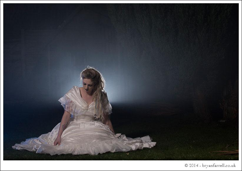 Gothic Bride Shoot 28