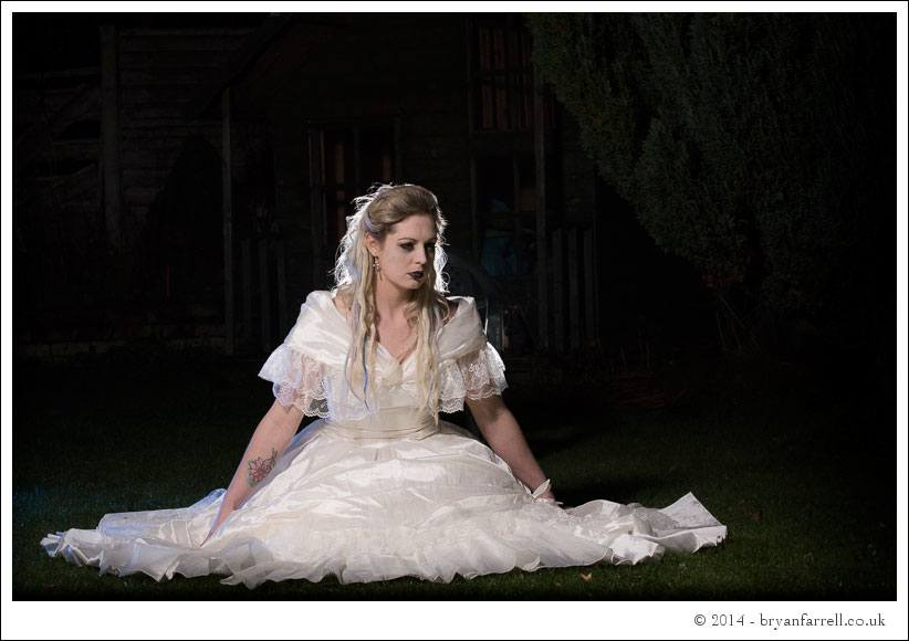 Gothic Bride Shoot 36