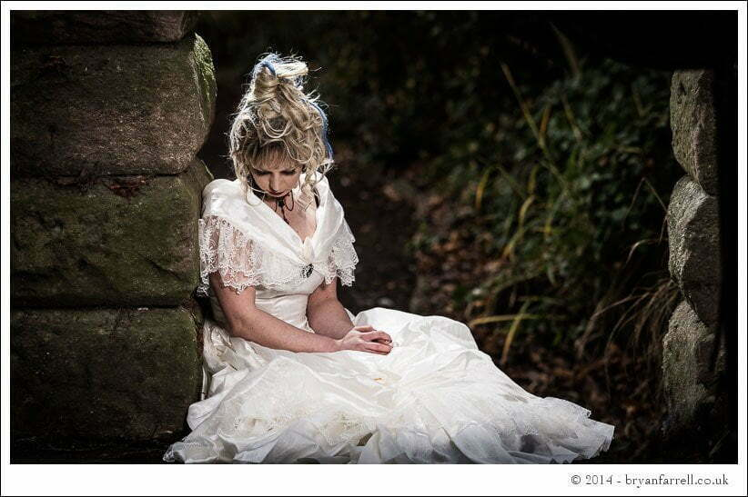 Gothic Bride Shoot 6