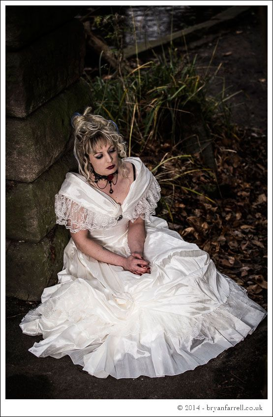 Gothic Bride Shoot 7