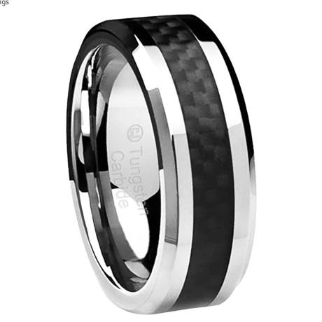 Genuine Tungsten Carbide, Durable and Scratch-Resistance.