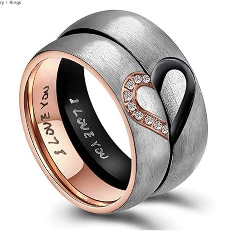 Tungsten-Carbide-Rings
