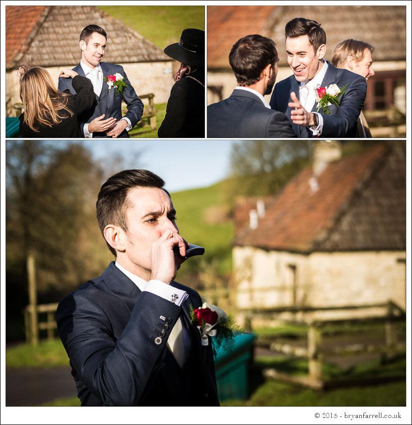 kingscote barn wedding photographers GA 32