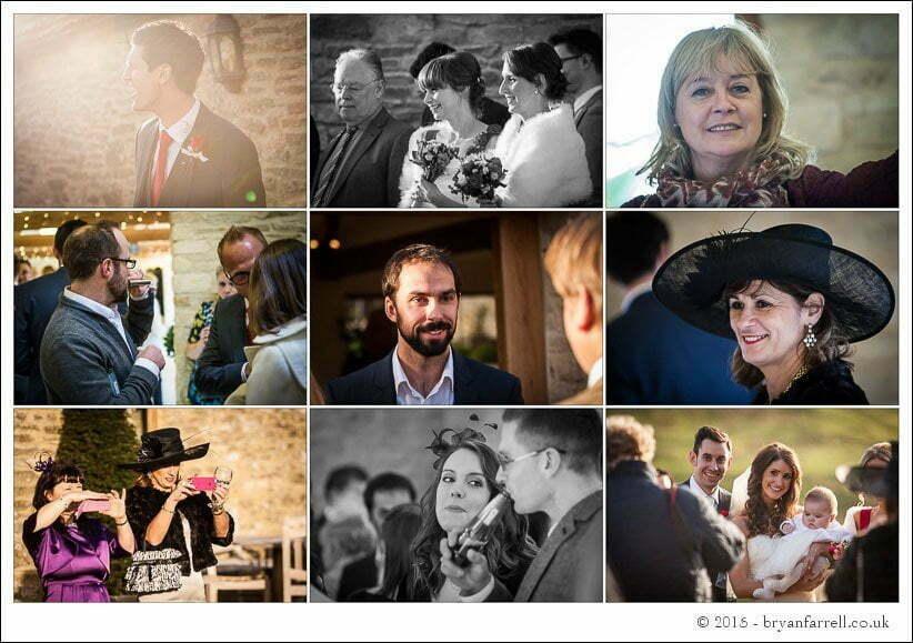 kingscote barn wedding photographers GA 81
