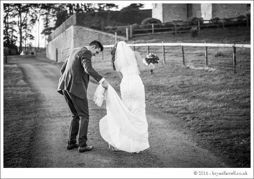 kingscote barn wedding photographers GA 92