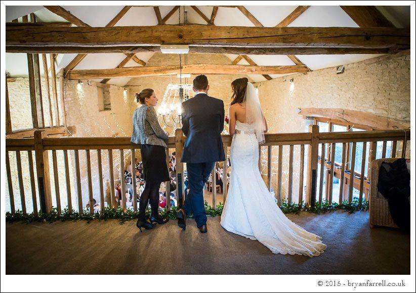 kingscote barn wedding photographers GA 93