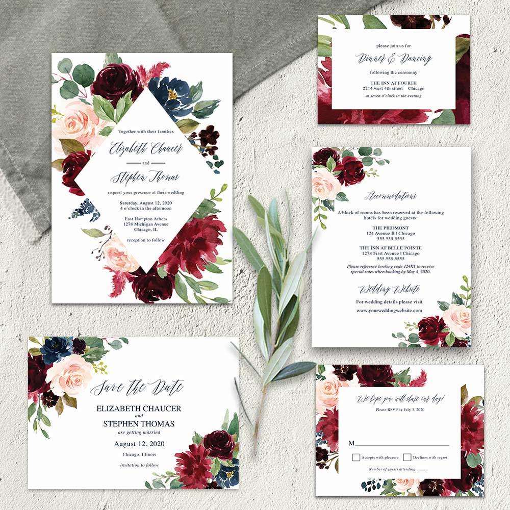 wedding invitation ideas 16