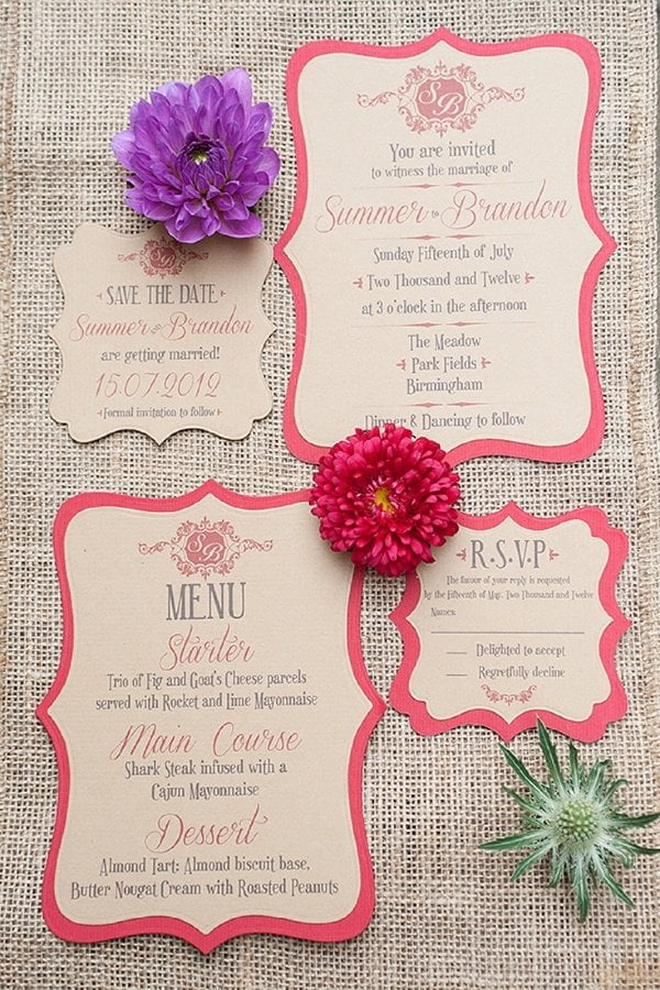 wedding invitation ideas 28