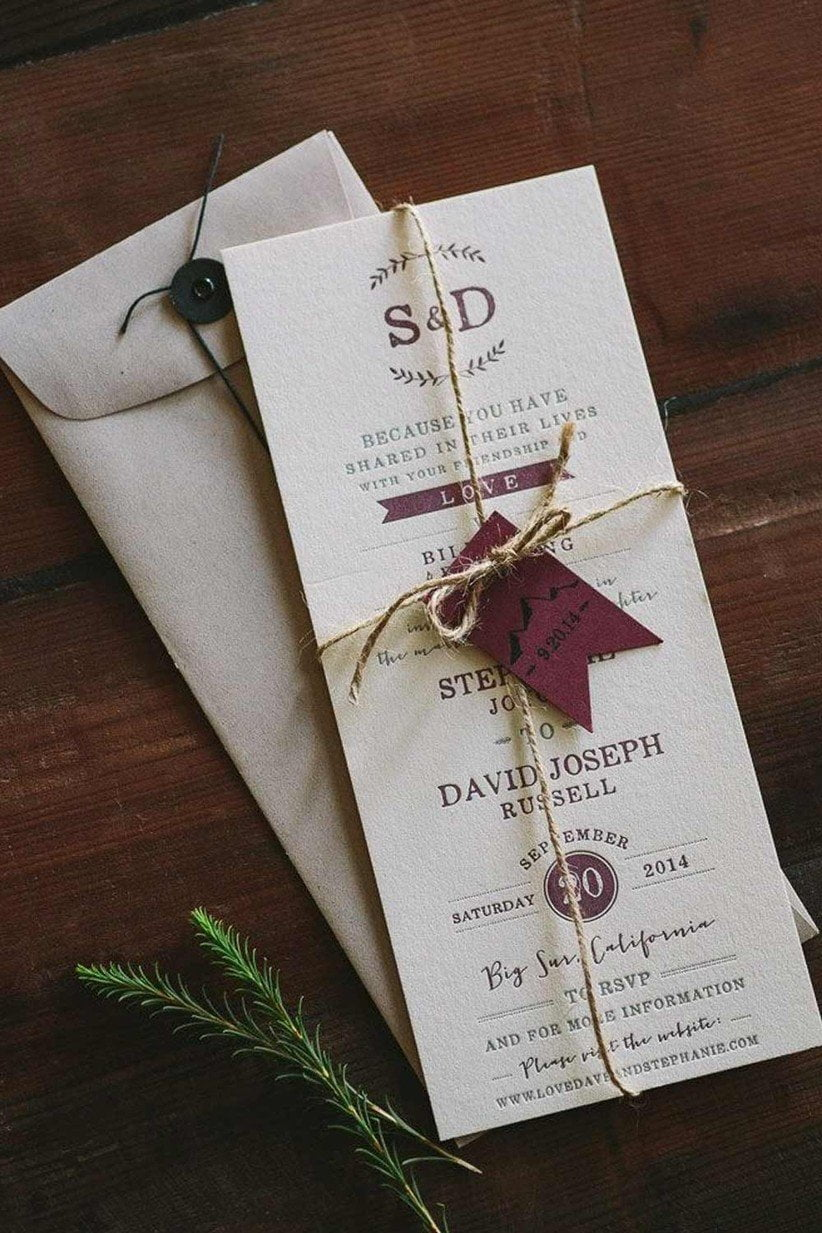 wedding invitation ideas 40