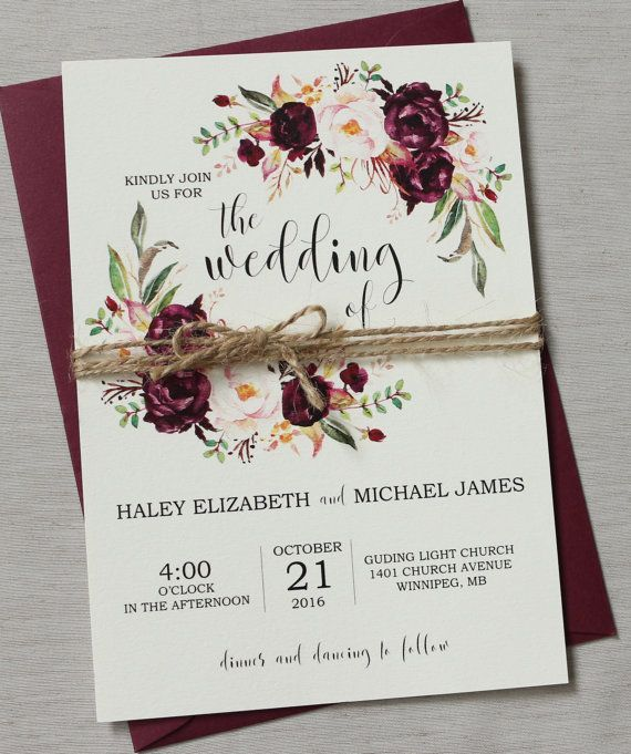 wedding invitation ideas 44