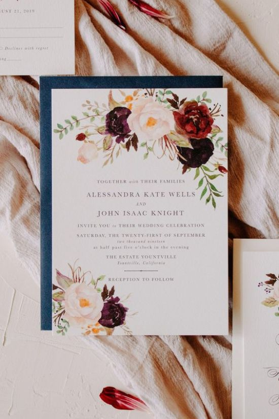 wedding invitation ideas 45