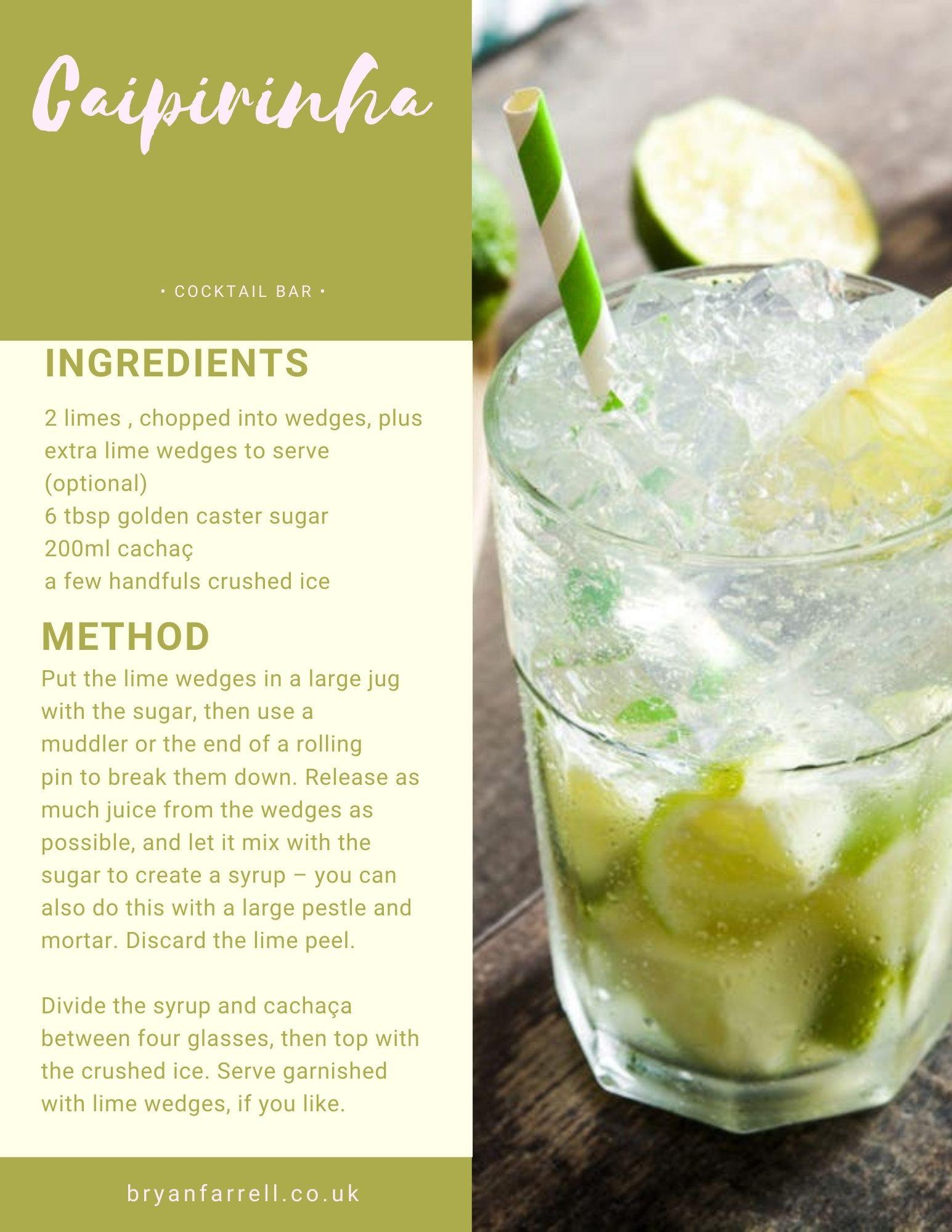 Wedding Cocktail Ideas 10