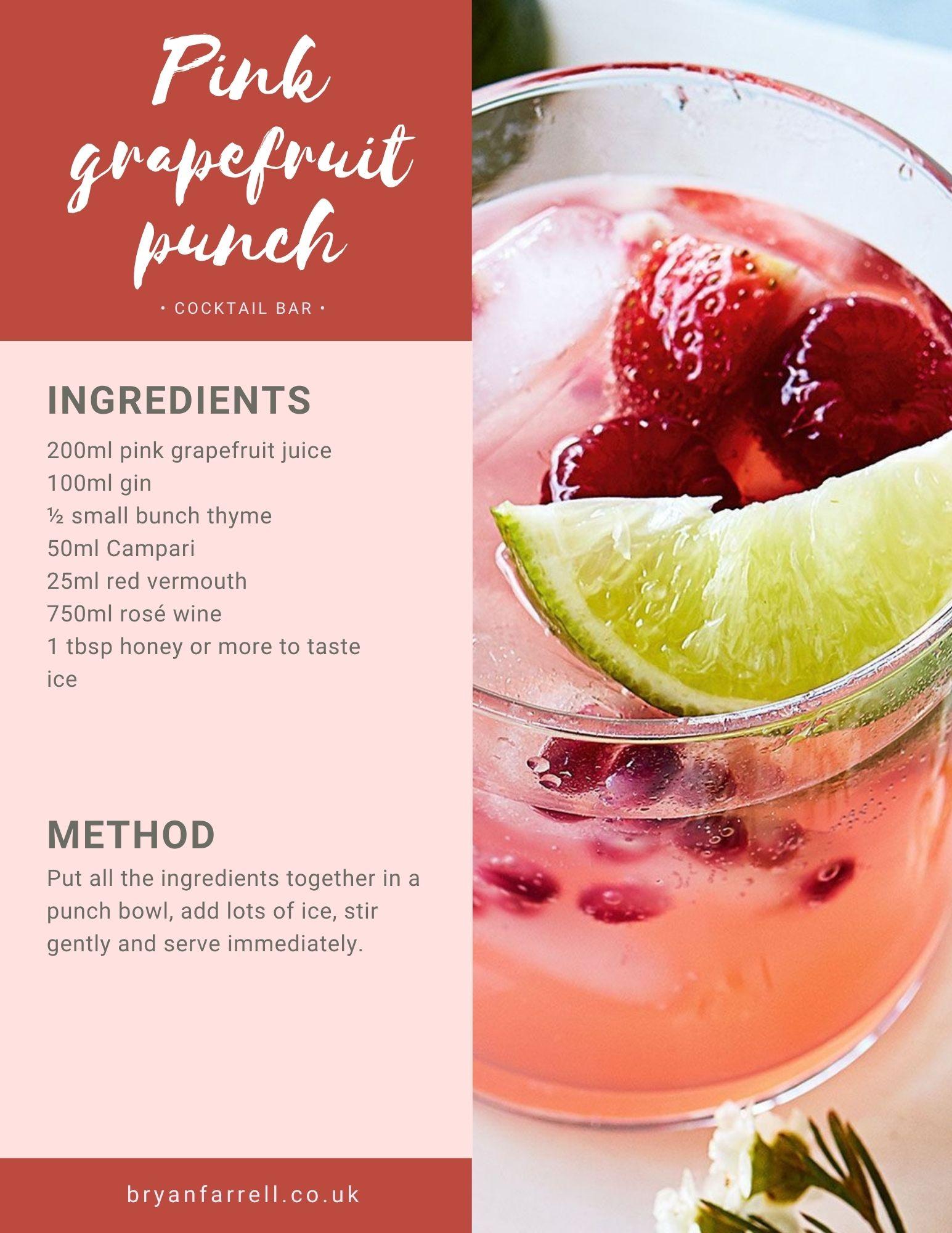 Wedding Cocktail Ideas 26