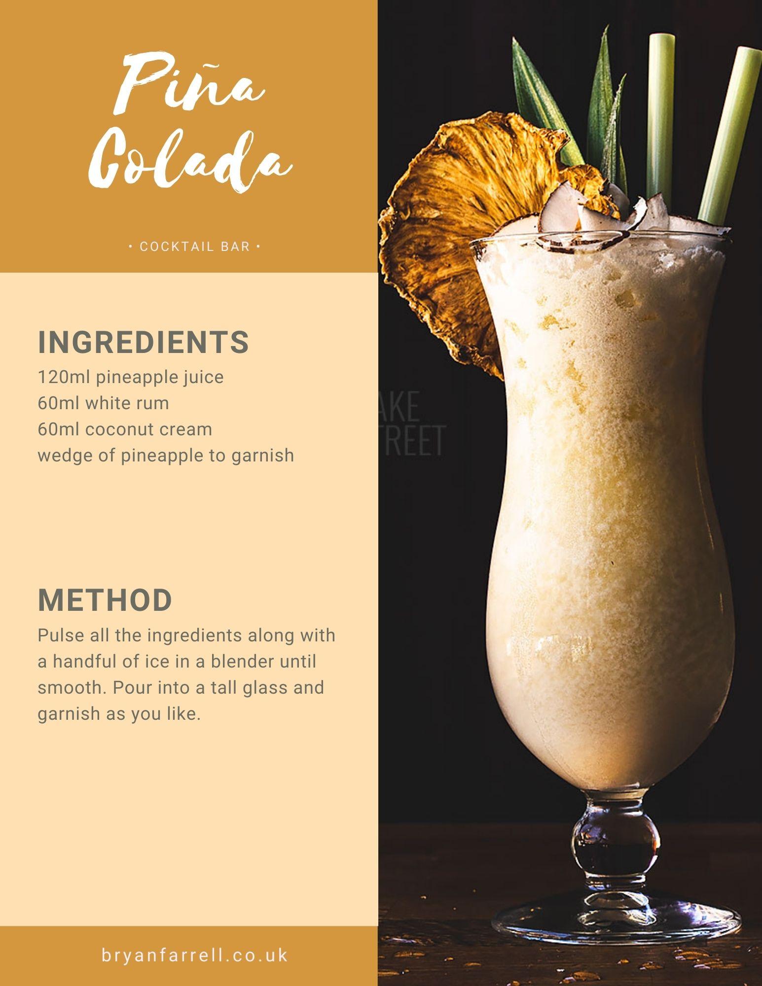 Wedding Cocktail Ideas 32