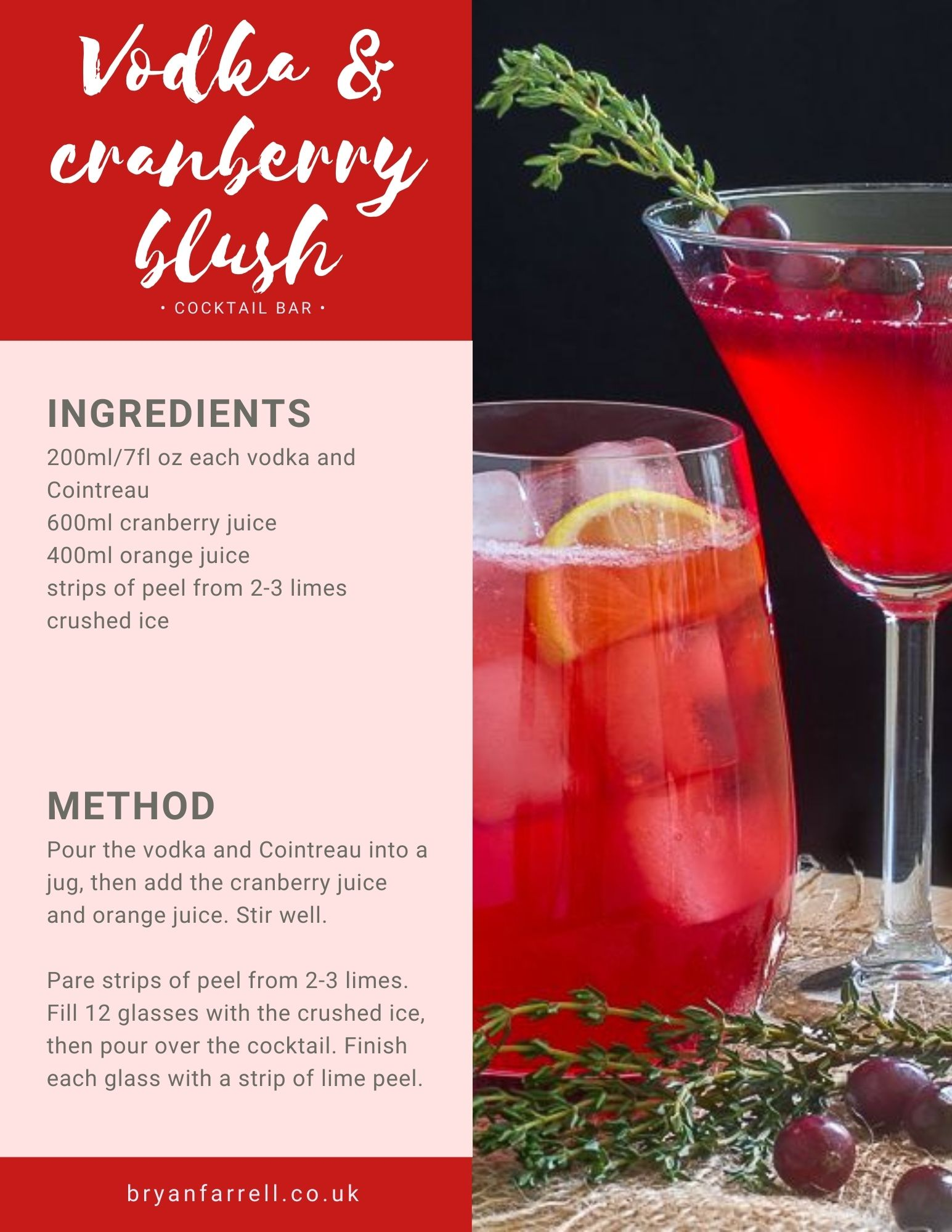 Wedding Cocktail Ideas 40