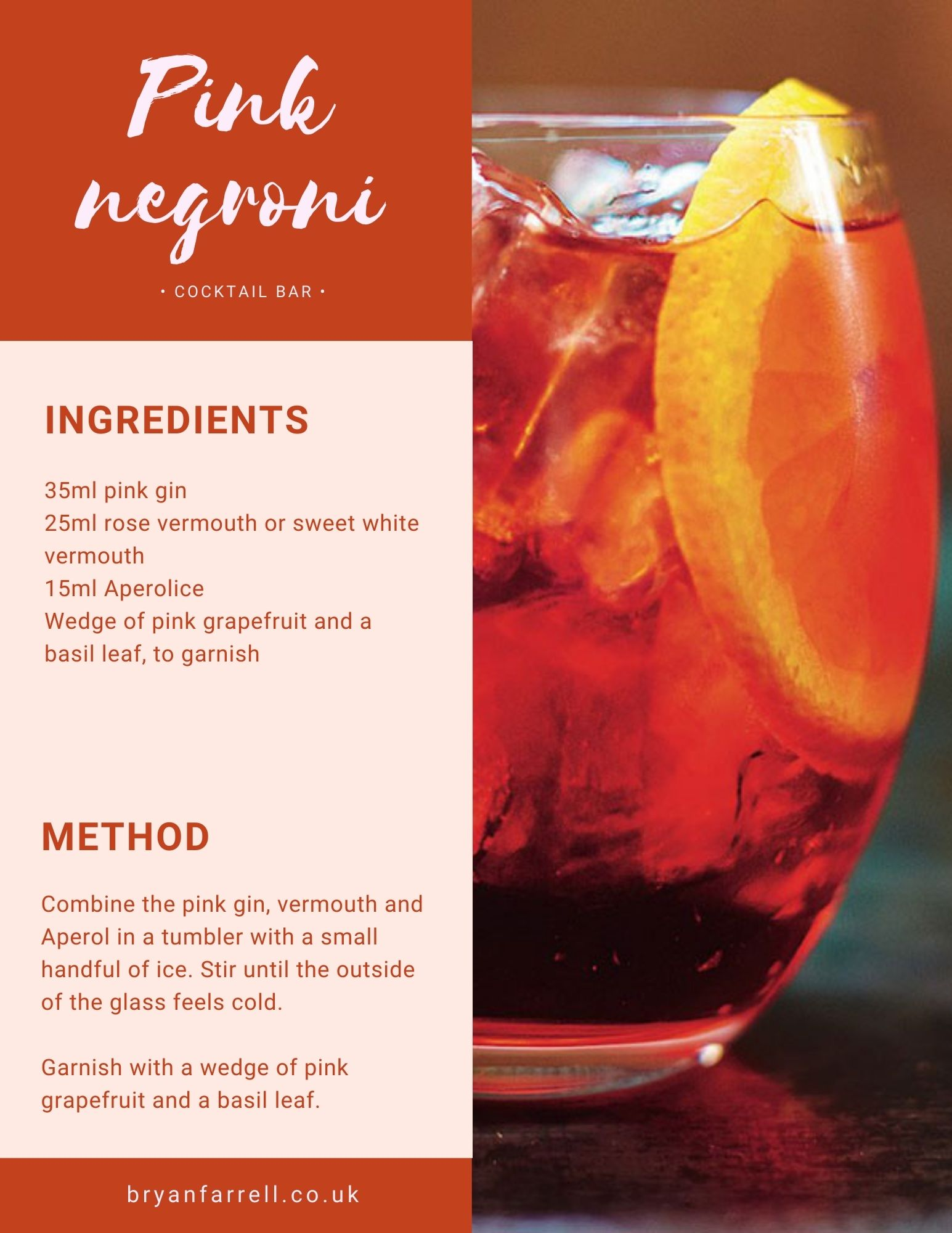 Wedding Cocktail Ideas 7