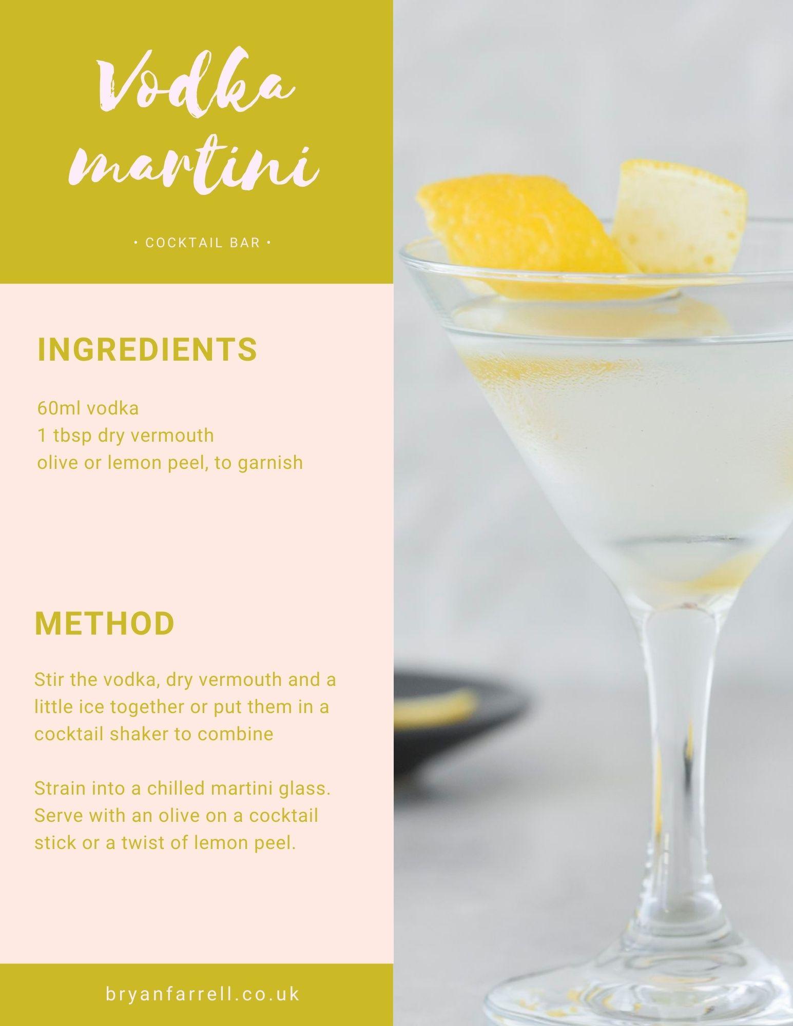 Wedding Cocktail Ideas 8