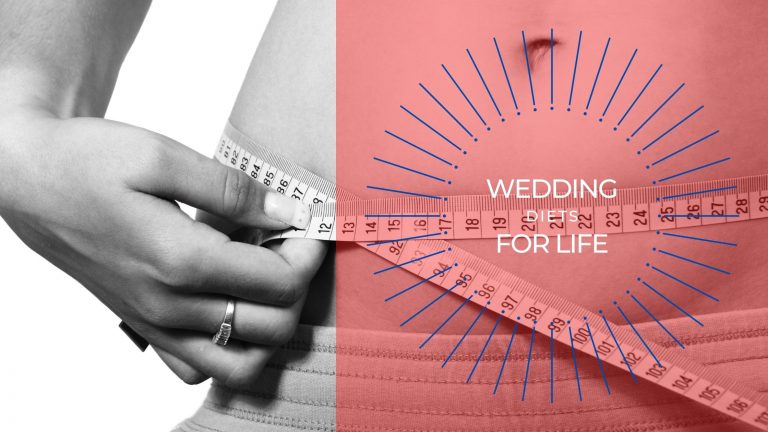 How to lose weight for a wedding.