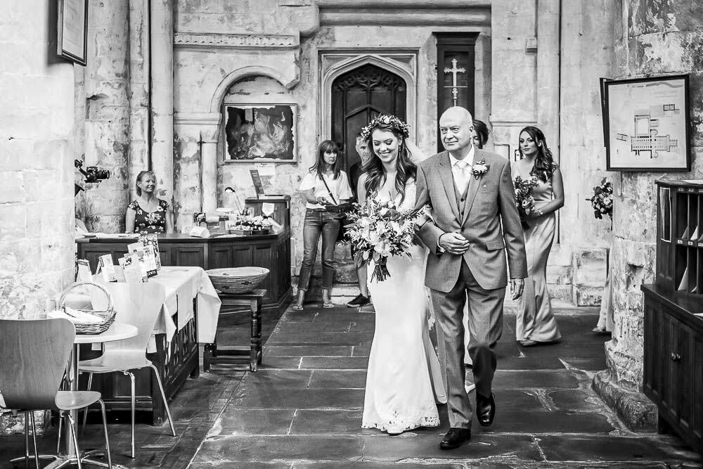 Malmesbury Abbey Wedding SB 5