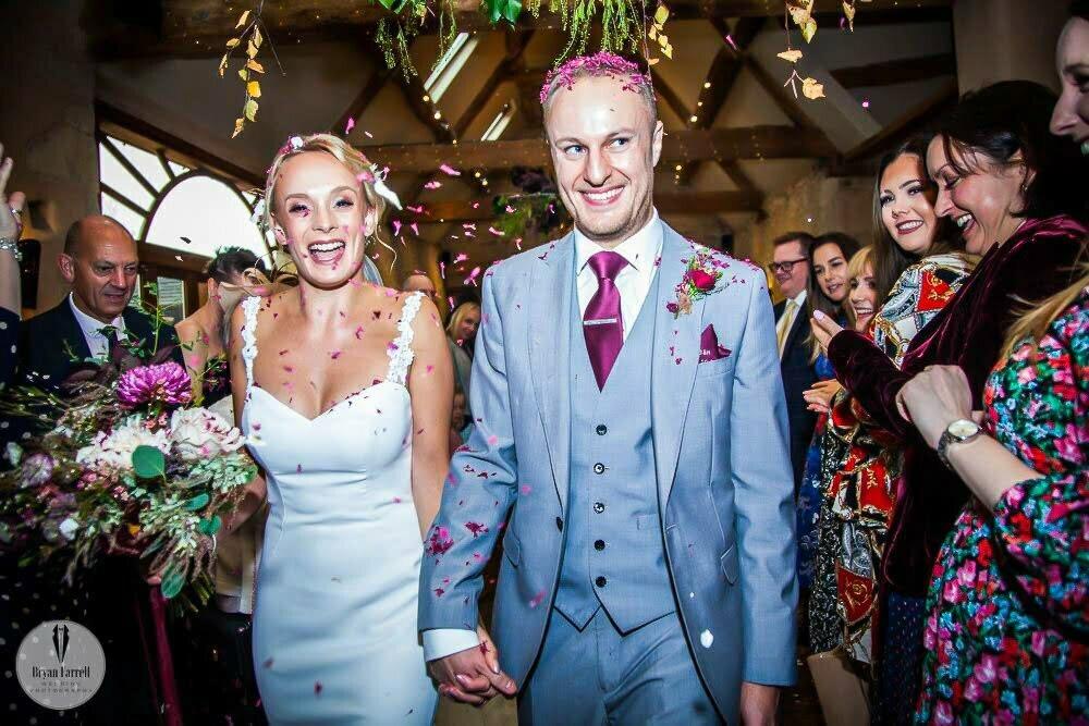 Oxleaze Barn Wedding BH 11