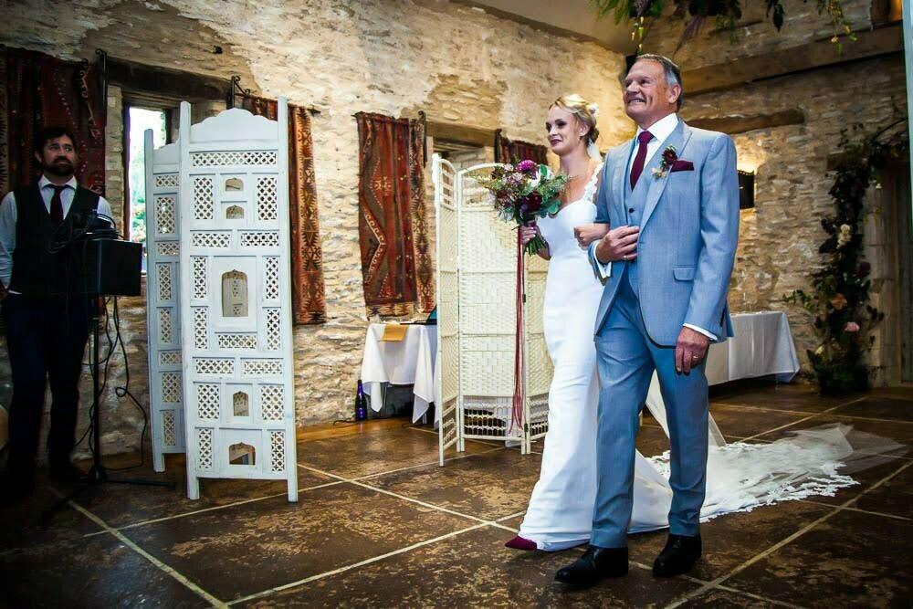 Oxleaze Barn Wedding BH 7
