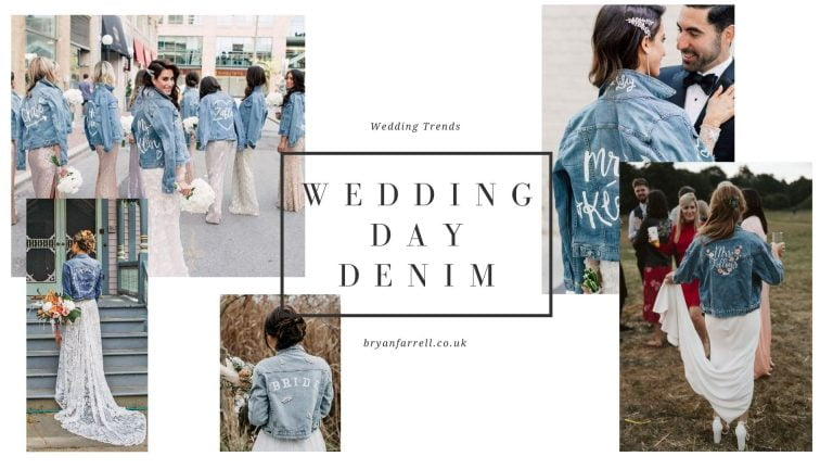 Wedding Denim Jackets For Brides.