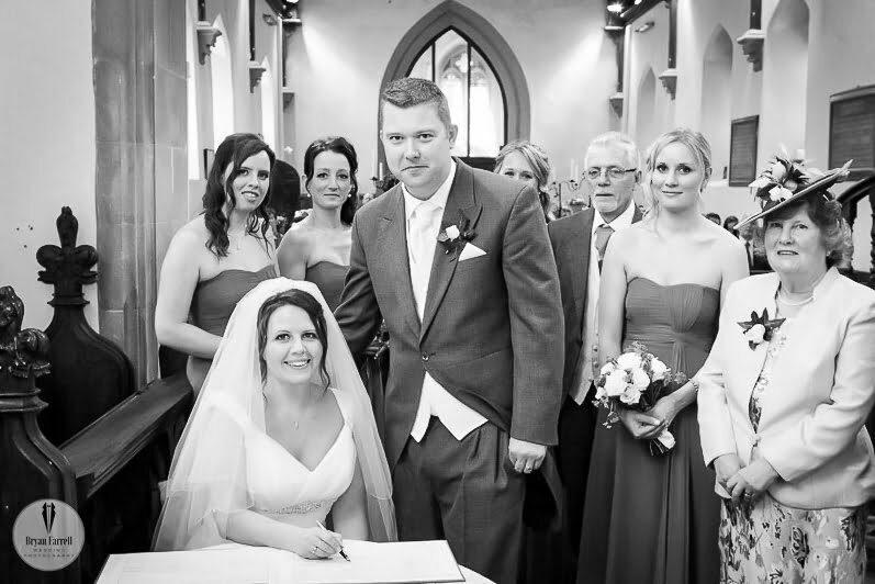 Birtsmorton Court Wedding AJ 12