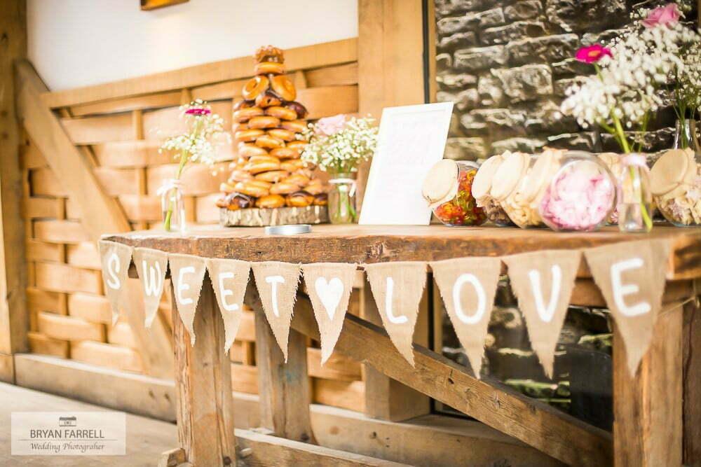 Wedding at Cripps Barn GPS AR 15