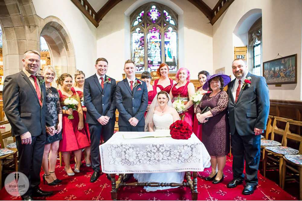 Wedding at The Prince of Wales Hotel Southport JA 11