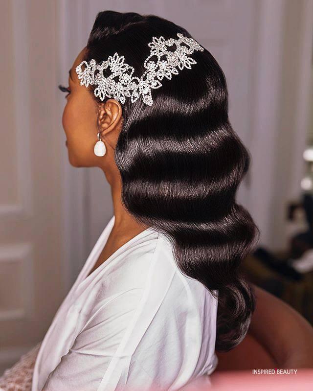 Wedding hair for black women 10