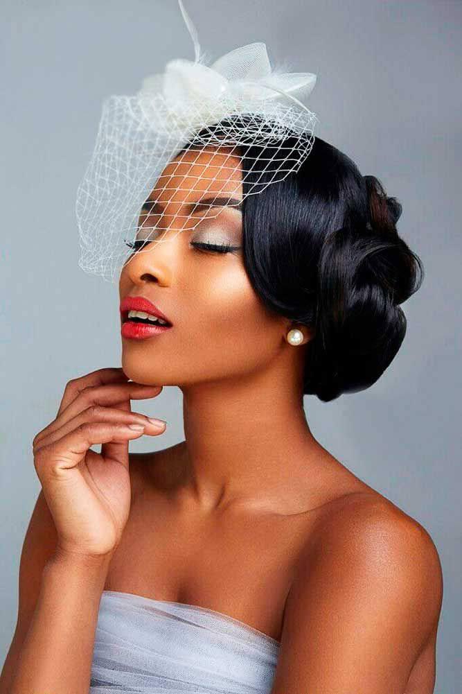 Wedding hair for black women 11