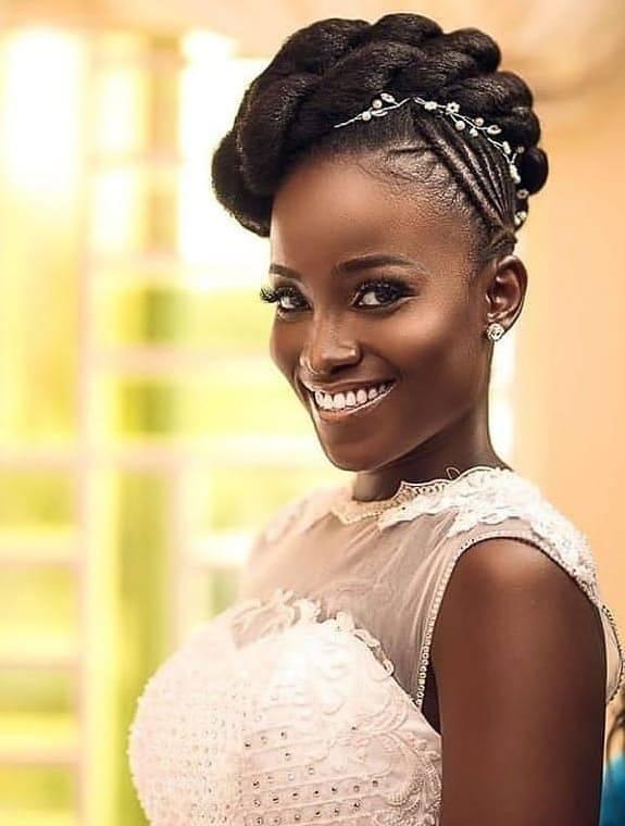 Wedding hair for black women 12