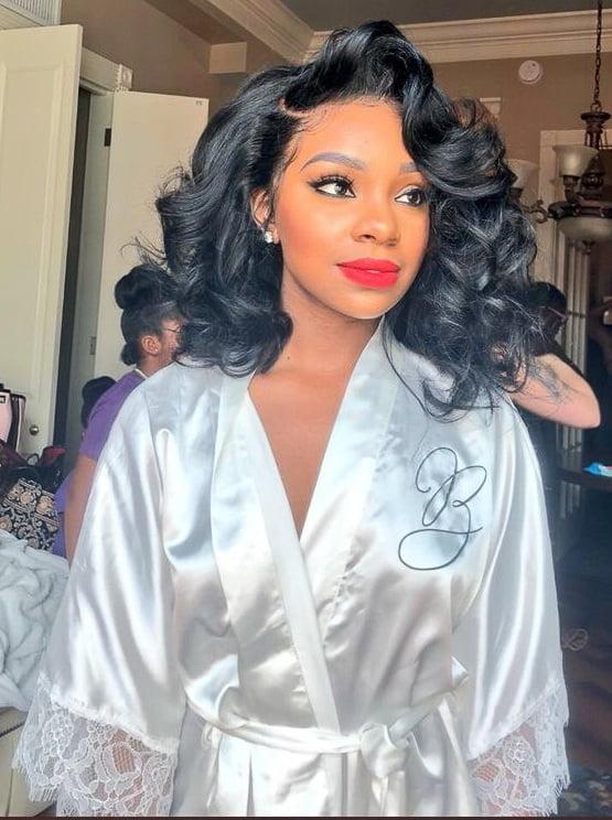 Wedding hair for black women 13