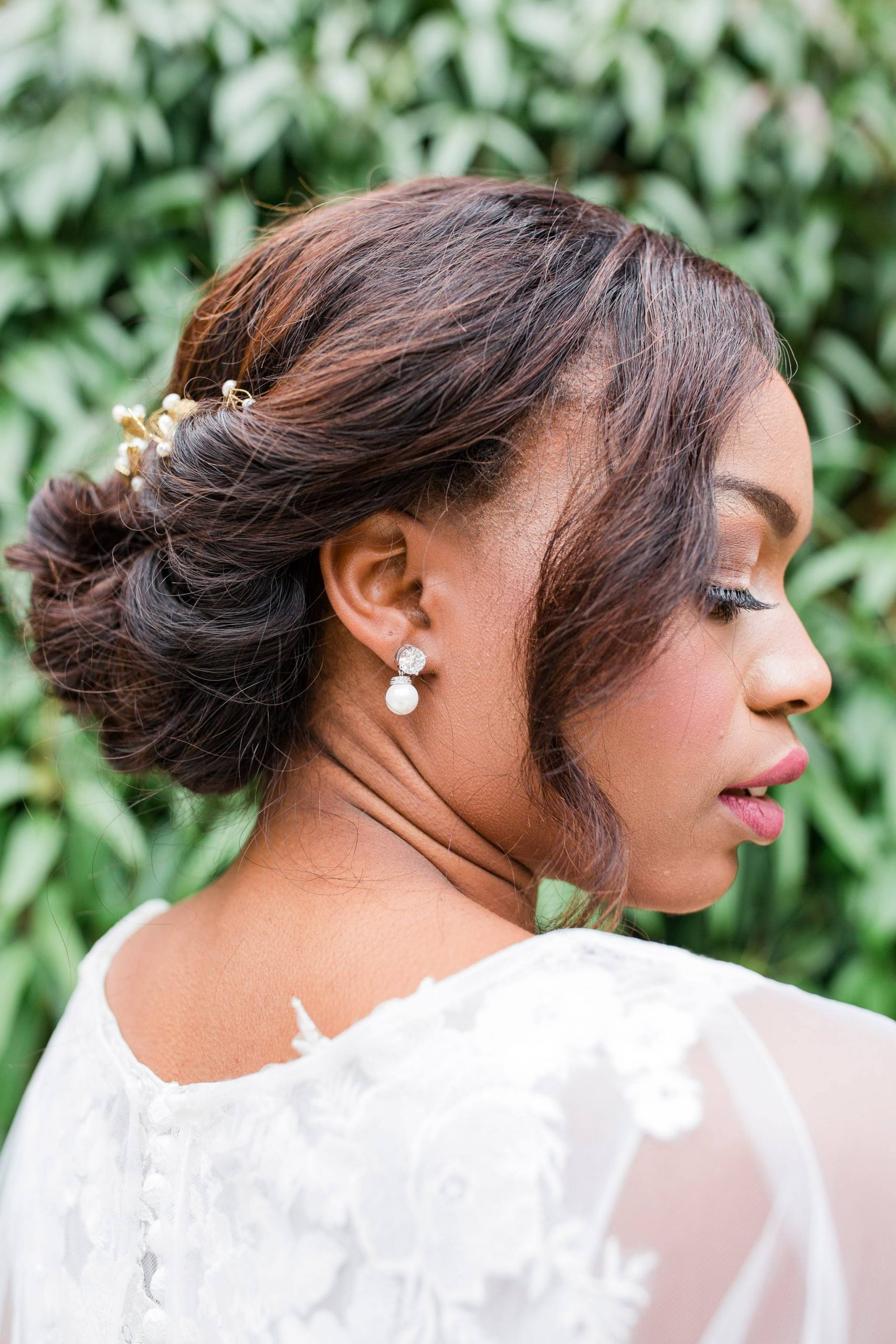 Wedding hair for black women 14 scaled