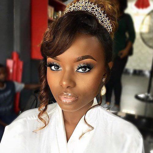 Wedding hair for black women 15