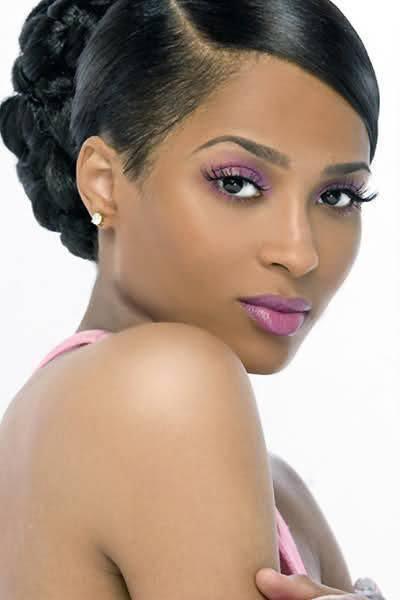 Wedding hair for black women 16