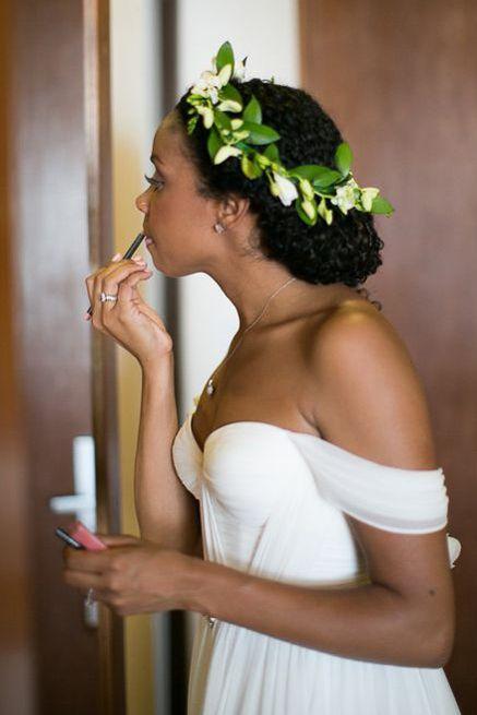 Wedding hair for black women 2