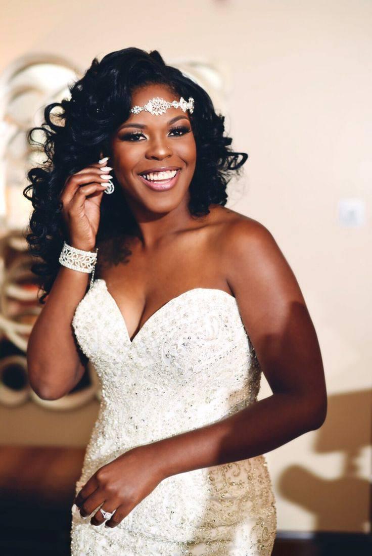 Wedding hair for black women 21