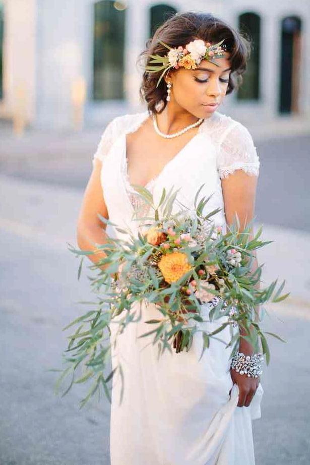 Wedding hair for black women 23