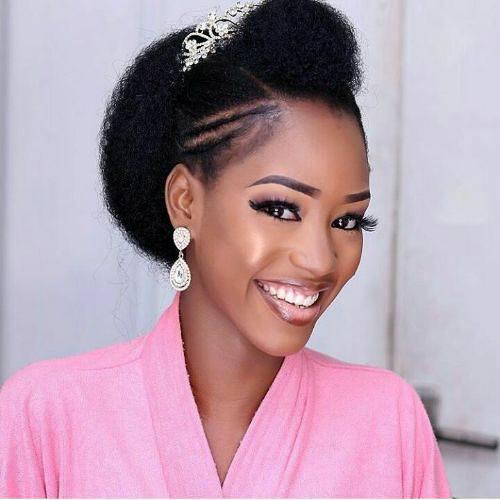 Wedding hair for black women 24